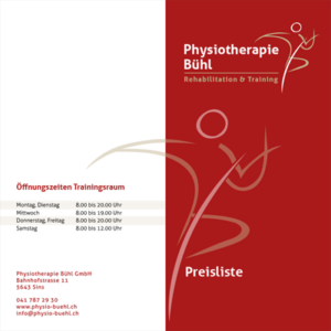 physiotherapie-flyer